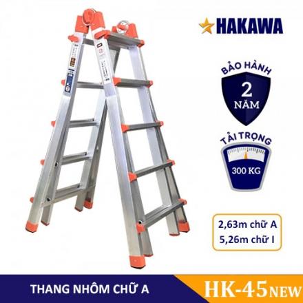 Thang nhôm trượt Hakawa Hk-45 (New)