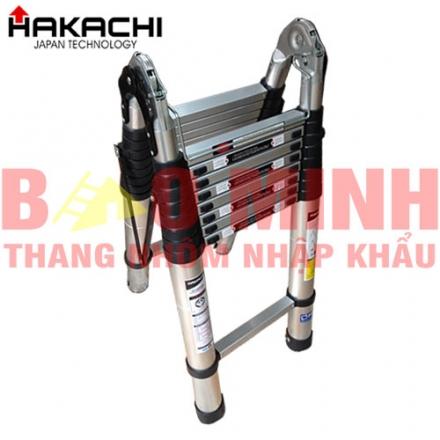 Thang nhôm rút gọn HAKACHI HM-24CP(7,2m)