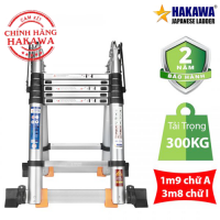 Thang Nhôm Rút Chữ A HAKAWA HK-238