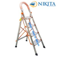 Thang INOX tay vịn 4 bậc Nikita NKT-04