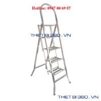Thang INOX tay cong 5 bậc BM-05