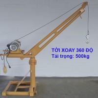 Tời Xoay 360 Độ Tải Trọng 500kg