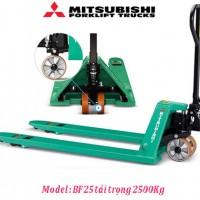 Xe nâng tay pallet Mitsubishi BF25