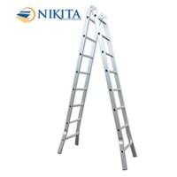 Thang nhôm khóa sập tự động Nikita Nika-35