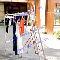 Thang nhôm tay vịn giàn phơi TGF-04