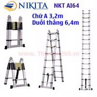Thang nhôm rút đôi Nikita NKT-AI64