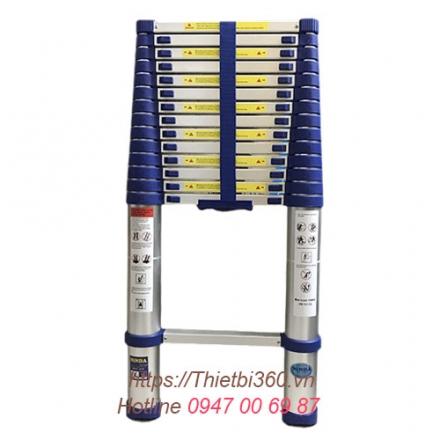 Thang nhôm rút gọn đơn ND-50 5m