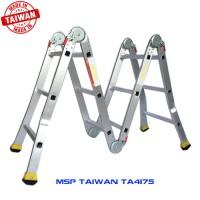 Thang nhôm gấp 4 đoạn TAIWAN TA4-175