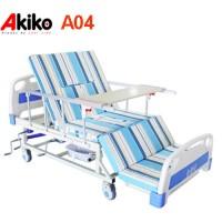 Giường bệnh 4 tay quay đa chức năng Akiko A04