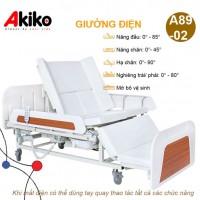 Giường bệnh điều khiển điện đa chức năng AKIKO A89-02