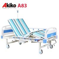 Giường bệnh 3 chức năng 2 tay quay Akiko A83