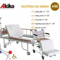 Giường bệnh nhân tách xe lăn 3 tay quay AKIKO-A88